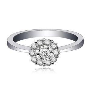 🔥0.8ct stimulated diamond ring